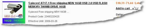 16GB-AT171Cost