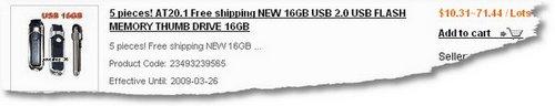 16GB-AT201Cost